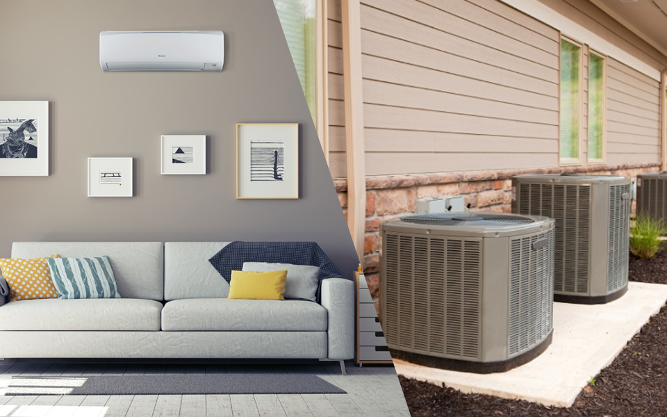 Ductless Mini Splits vs Central AC