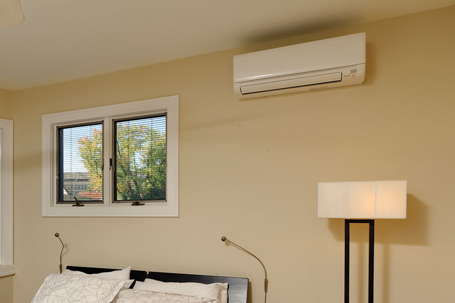 mitsubishi ductless air conditioning installation