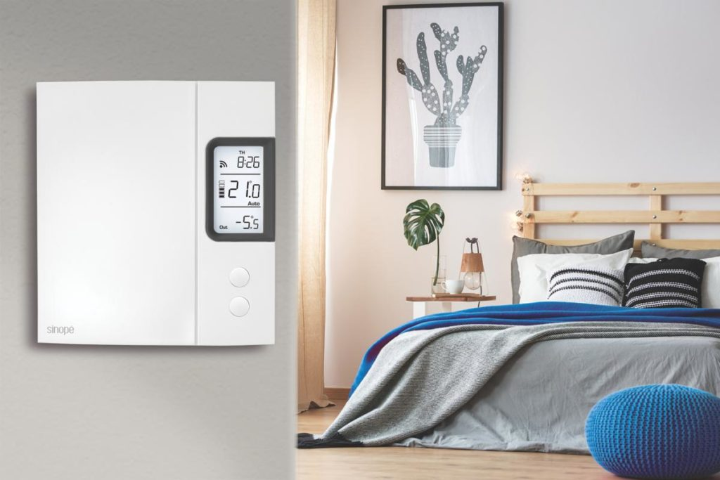 Heater With Smart and Programmable Thermostats