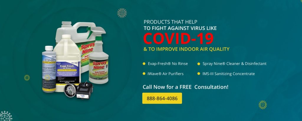 Coronavirus Handling Products From Arnica