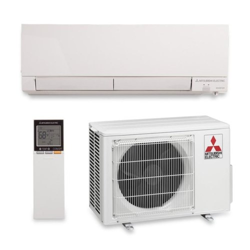 mitsubishi ductless air conditioning installation in Manhattan