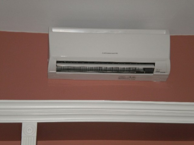 Mitsubishi Ductless Mini Split Air Conditioner