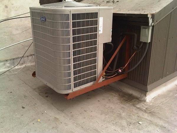 central air conditioning installation in Manhattan
