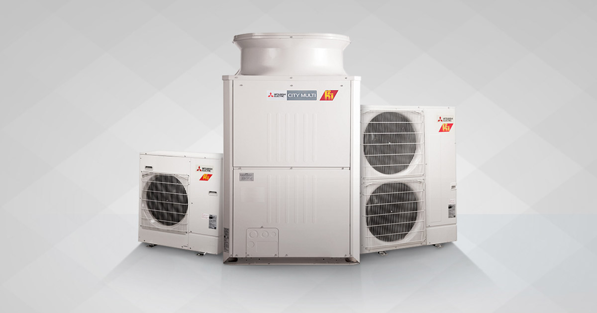 Benefits of VRV - variable refrigerant volume air conditioning systems