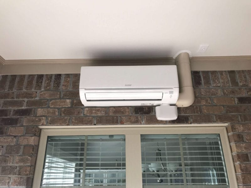 Mitsubishi min split ductless air conditioning repair in Brooklyn