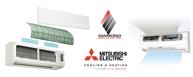 Mitsubishi ductless mini split systems repair in Brooklyn Queens